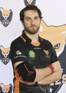 Lausanne Foxes Dodgeball Ludovic Favre Portrait