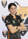 Lausanne Foxes Dodgeball Kim Glardon Portrait