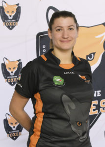 Lausanne Foxes Dodgeball Carole Vulliamy Portrait