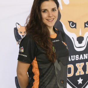 Lausanne Foxes Shadia Huggenberger Portrait