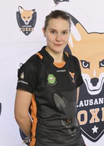 Lausanne Foxes Dodgeball Sylvie Schnyder Portrait