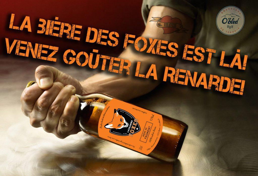 Bière Lausanne Foxes La Renarde
