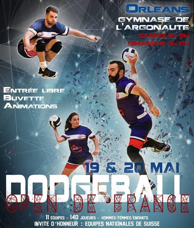 Dodgeball Open de France 2018
