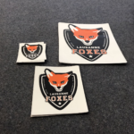 Stickers Auto-collants Lausanne Foxes