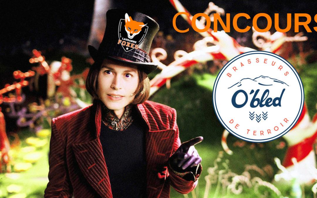 CONCOURS: Visitez la brasserie O'Bled avec les Foxes!