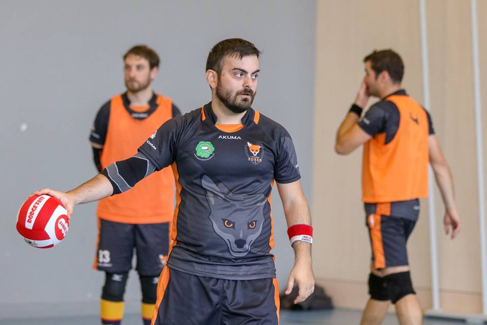 Omer Kesici Lausanne Foxes Dodgeball 5 questions à