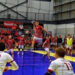 Corentin Vermot Suicide Lausanne Foxes Dodgeball Euro Glasgow 2018