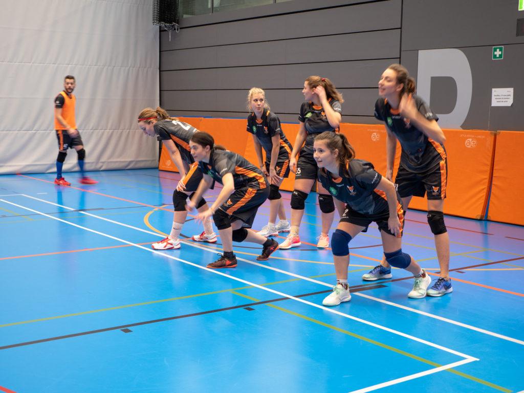 Dodgeball Championnat Suisse 01.12.2019 Lausanne Foxes Femmes